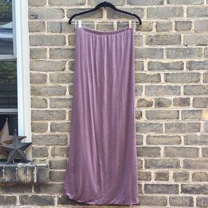 Light Purple Maxi Skirt